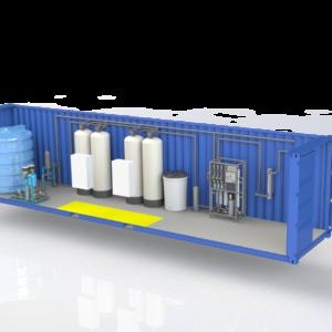 Блочно-модульные станции очистки воды
